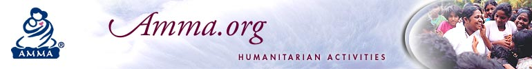 Amma.org - Humanitarian Activities